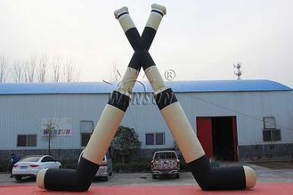 Customized Size Inflatable Hockey Sticks UL / CE / EN14960 Certified