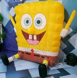 SpongBob Advertising Inflatables With Air Blower And Repair Kits