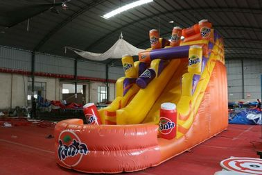 Large Inflatable Advertising Slides Indoor Outdoor Playground Eco - Friendly