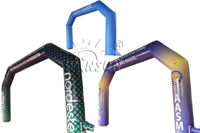 Durable Inflatable Advertising Arch Custom Logo Service Support supplier