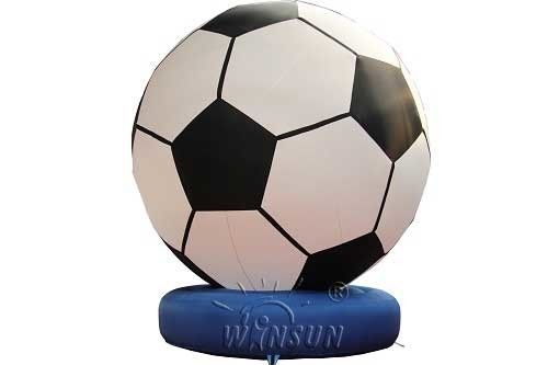 PVC Material Inflatable Model / Soccer Goal Custom Logo Service Accepted supplier
