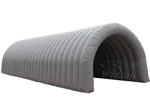 3 - Layer PVC Inflatable Tunnel Tent , Fire Retardant Big Inflatable Tent supplier