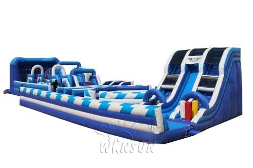 Giant inflatable playground WSP-305/including slides,trampolines and obstacles supplier
